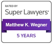 super lawyers - matt wegner
